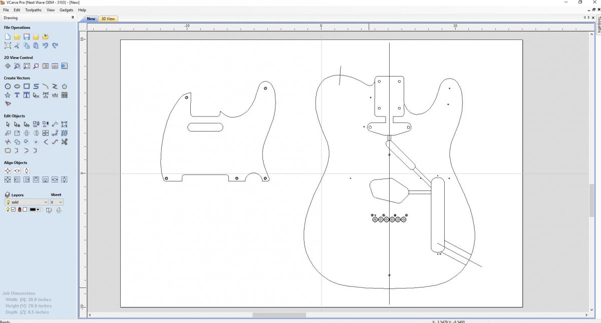 Need Help - Cnc files | The Canadian Guitar Forum