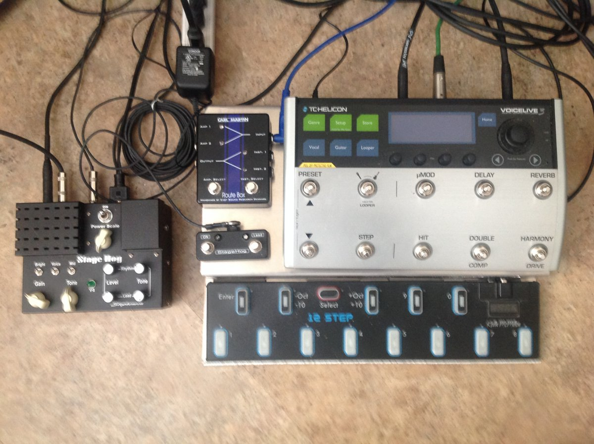 Made My Own Pedal Board Today The Canadian Guitar Forum Wiring