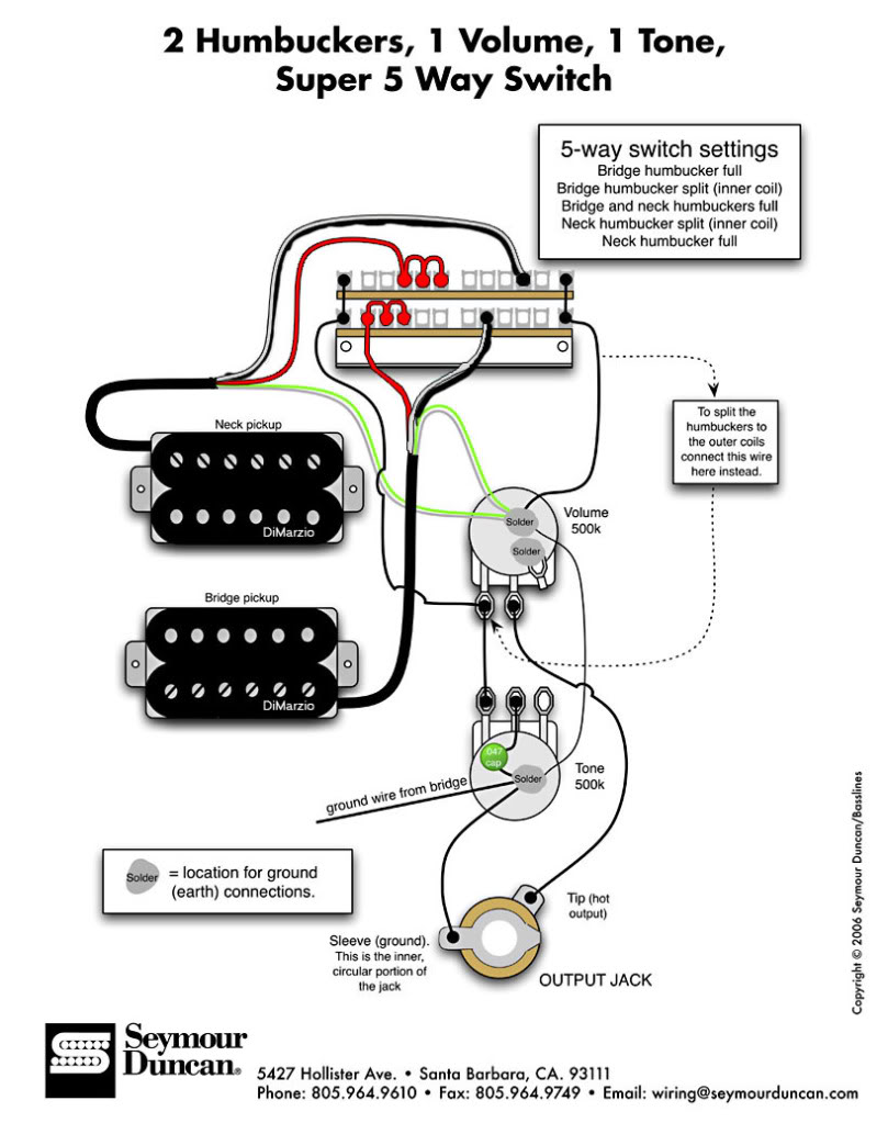 I grow dumber by the year I swear!  sc 1 st  The Canadian Guitar Forum : wiring seymour duncan - yogabreezes.com