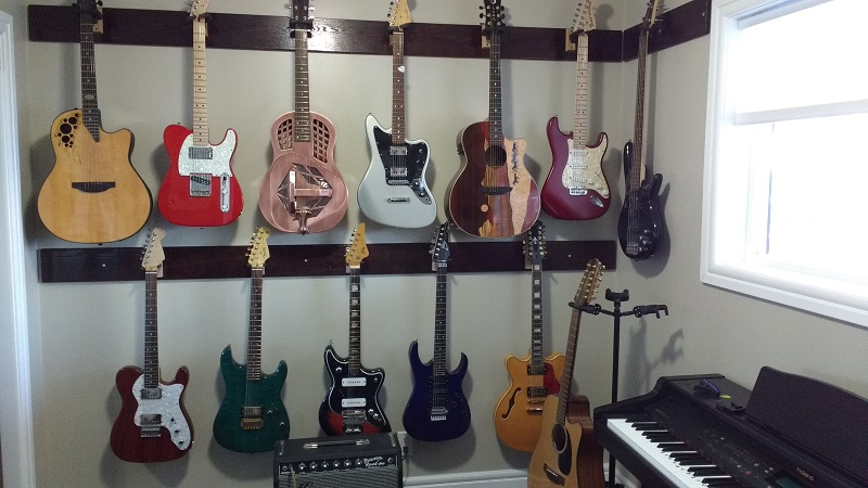 Wall Mounting Guitars The Canadian Guitar Forum